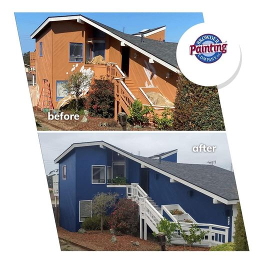 Full Exterior Transformation in Morro Bay, CA